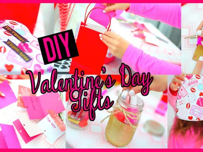 Easy DIY Valentine's Day Gifts!