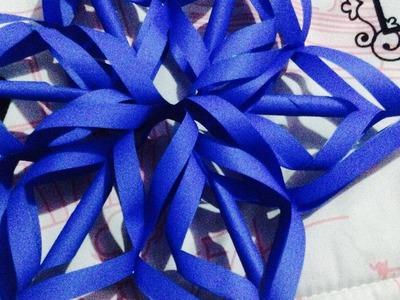 Estrella de papel - Origami Papiroflexia