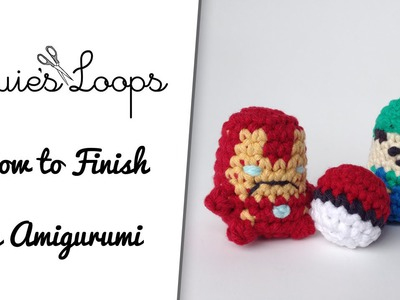 How to Finish an Amigurumi: Stuffing and Closing up