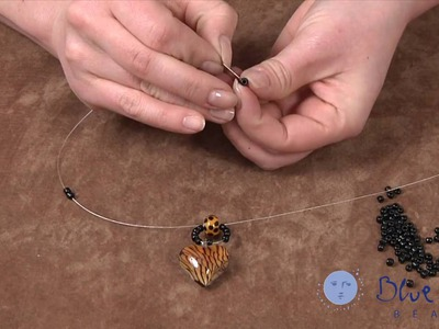 How to Make an Art Glass Bead Necklace