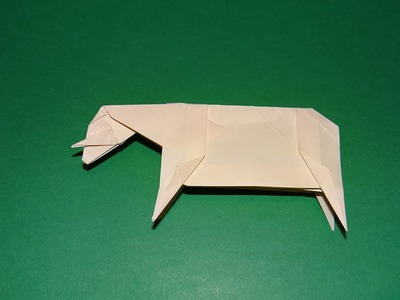 How To Make An Origami Sheep