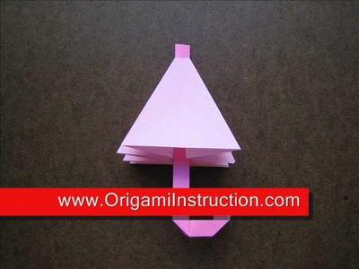 How to Make an Origami Umbrella