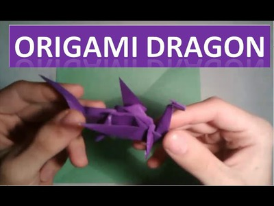 How to Make Origami Dragon | Origami Tutorials |