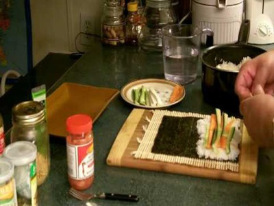 How to make Sushi Part Two