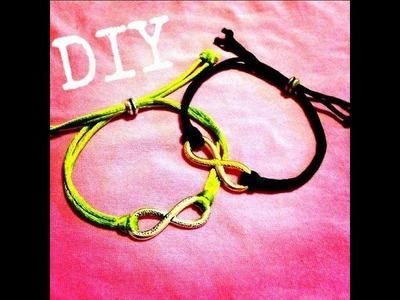 Infinity Link Knotted Bracelet DIY December Day 4