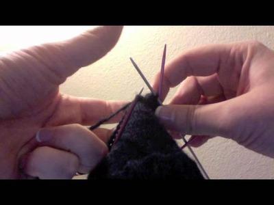Knitting a Sock - Soft Spoken