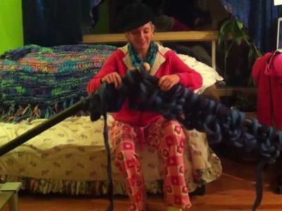 Knitting my Giant Blanket