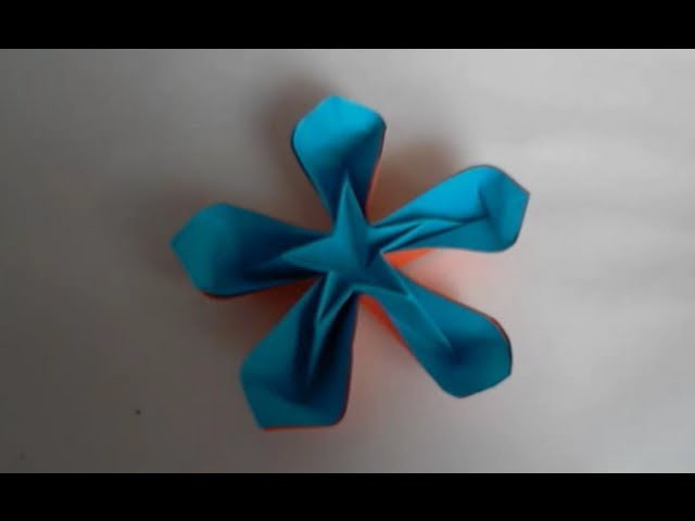 Origami Fleur Coeur d'Etoile
