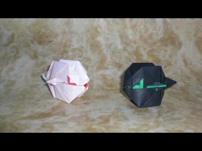 Origami Fugu Puffer Fish (Sébastien Limet) Tutorial
