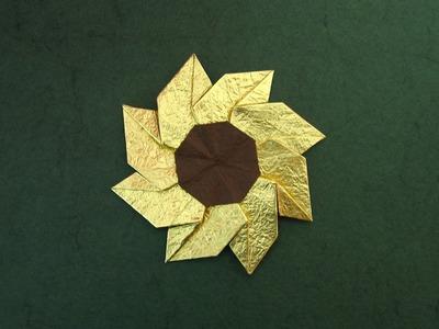 Origami Instructions: Flower Gaillardia (Meenakshi Mukerji)