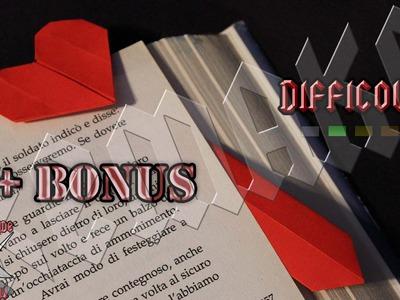 [ORIGAMI ITA] Segnalibro Cuore + Bonus (Jo Nakashima) || Dude's Remakes