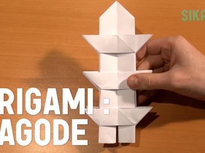 Origami : La pagode en papier - HD