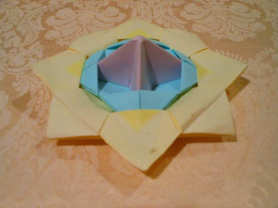 Origami spinning top(HD)