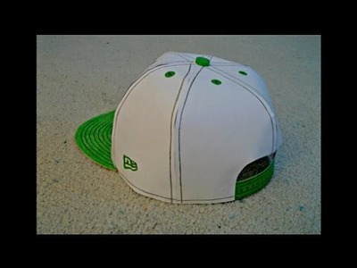 Paper Model of a Monster Energy Snapback Hat