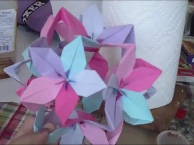 Passion Flower Ball Origami