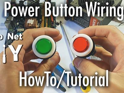 Pisonet DIY: Power Button Wiring HowTo.Tutorial