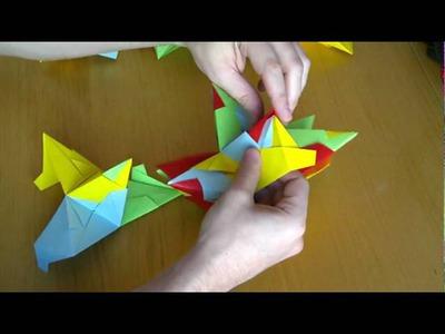 Polyèdres réguliers en Origami