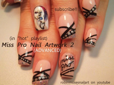 Pretty Girl Nail Art