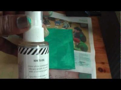 Scrapbook: Recycled journal tutorial Pt1