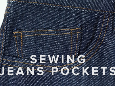 Sewing for Beginners - Jeans Pockets