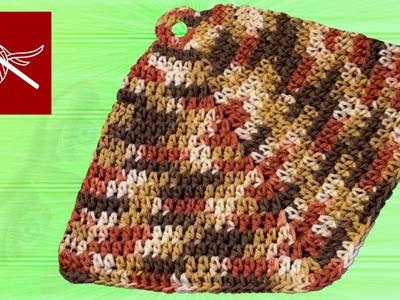 THICK CROCHET POTHOLDER Crochet Geek