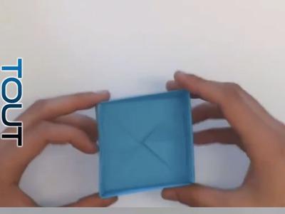 Tuto Origami boîte en papier