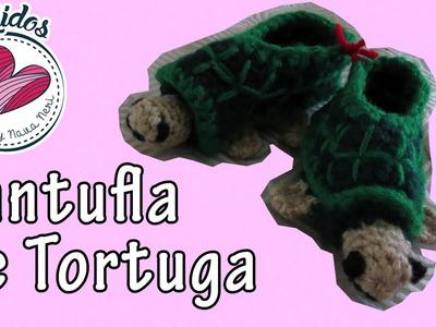 [Tutorial Crochet] Tortuga Pantufla.Zapato