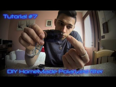 Tutorial GoPro HD: #6 HomeMade DIY Polarized Lens for GoPro. Lente Polarizzata HomeMade DIY