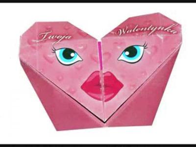 Walentynki origami - jak zrobić kartkę walentynkę origami?