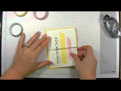 Washi Tape for Paper Craft Projects and Card Making