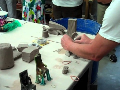 Wire cut method - making small chairs