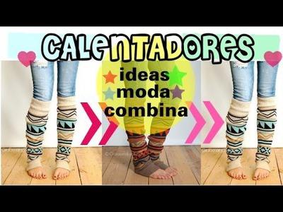Calentadores con botas Otoño.Invierno 2014 - moda
