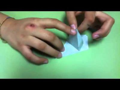 Caracol Origami para el Arca de Noé Parte 1
