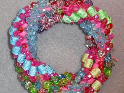 Chunky Triple Spiral Stitch Bracelet