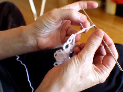 Crochet - Noeud d'amour 1