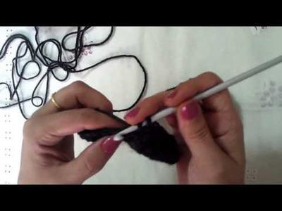 Cuello de crochet muy facil.