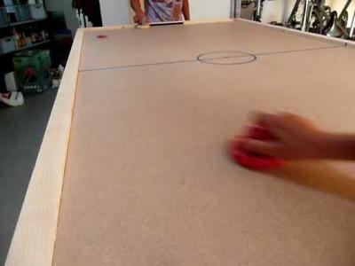 DIY Air Hockey Table