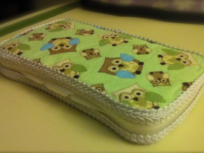 DIY: Baby Wipe Travel Case (updated)