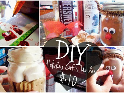 DIY Holiday Gifts Under $10!♡