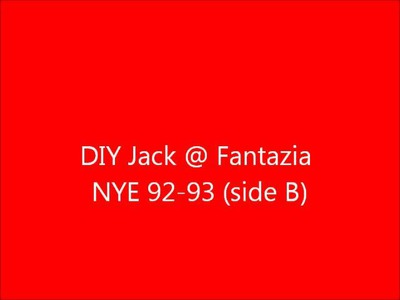 DIY JACK FANTAZIA 92 93 side B