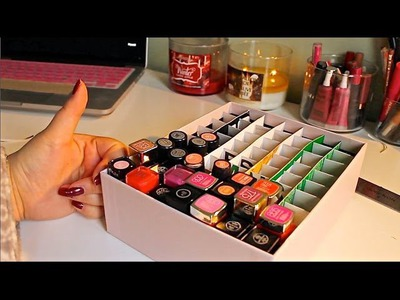 DIY Lipstick Holder! | Amanda Nguyen