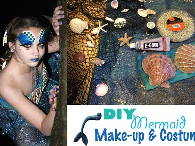 DIY Mermaid Costume && Makeup