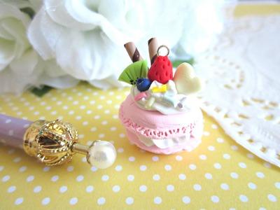 DIY ♥ Pastel Macaron Charm Tutorial