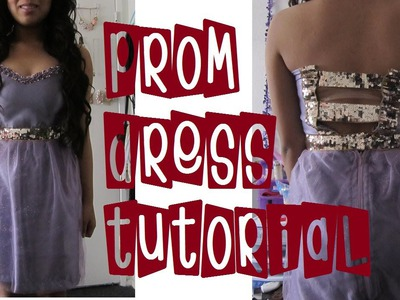 DIY: Princess Prom Dress