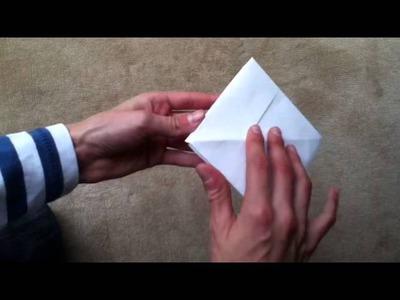 Faire un bateau en papier - Origami facile