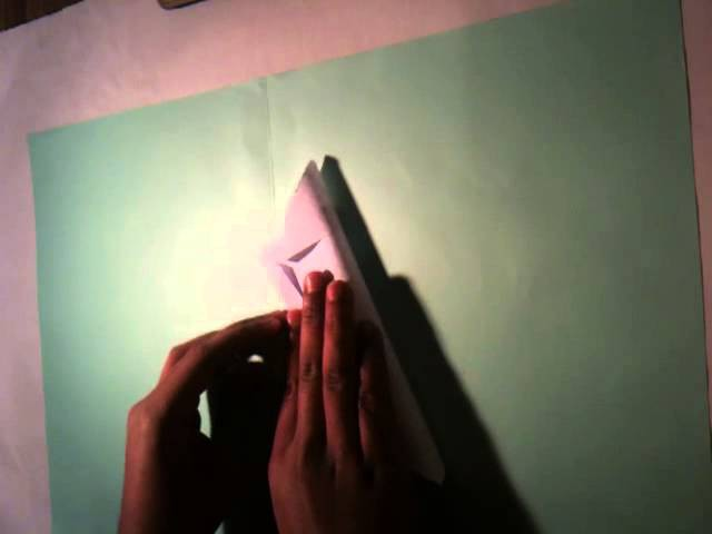 Faire un Origami - Fleur de Jasmin