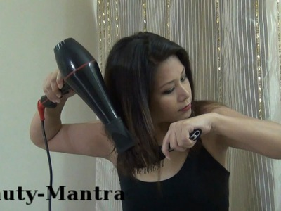 How To Blow Dry Your Hair DIY