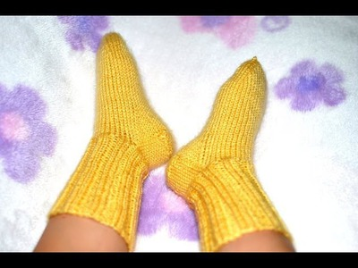 How to Knit Basic Socks for Baby Part 3