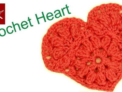 How to make a Crochet Heart Crochet Geek