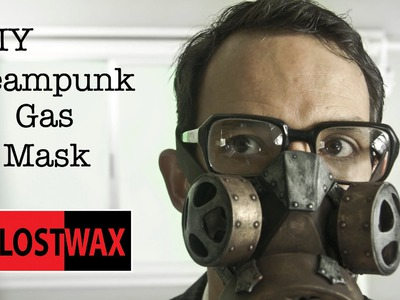 How To Make a DIY Steampunk Gas Mask. Tutorial and Pattern